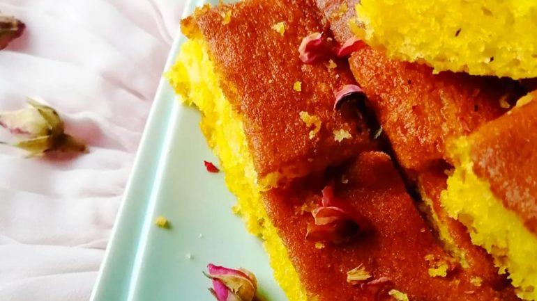 SAFFRON BUTTER CAKE